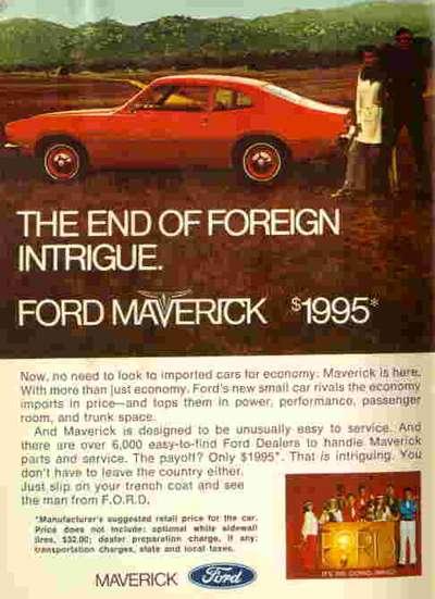 historia del ford maverick en mexico. Black Bedroom Furniture Sets. Home Design Ideas
