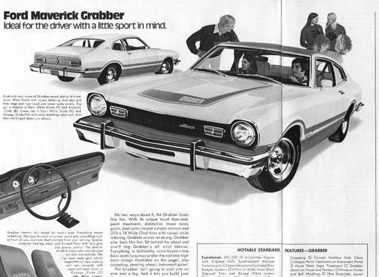 The Ford Maverick Page - Year to Year Changes