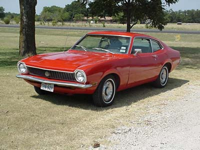 the ford maverick page year to year changes rh fordmaverick com Ford Maverick Interior Chevrolet Vega